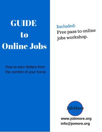 GUIDE to Online Jobs