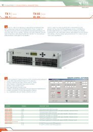 TX 1 - Broadcasting Services