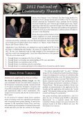 October 2012 Volume 35 Issue 5 - Nelson Repertory Theatre - Page 6