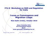 Trends on Convergence and Migration Leaps - ITU-APT Foundation ...