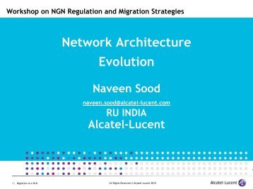 NGN Strategies for Fixed and Mobile Operators - ITU-APT ...