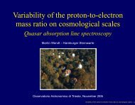 Variability of the proton-to-electron mass ratio on cosmological scales