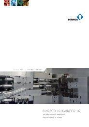 EvoDECO 10 / EvoDECO 16 - Teximp SA