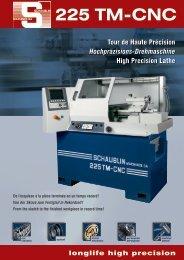 Catalogo Schaublin 225TM-CNC - Vemas