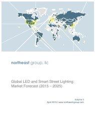 Brochure-Global LED and Smart Street Lighting-Market Forecast 2015-2025-Northeast Group