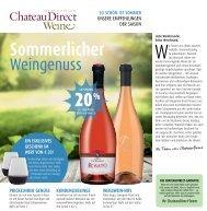 Sommerlicher Weingenuss von ChateauDirect
