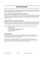 Mental Health Treatment - Regence BlueShield