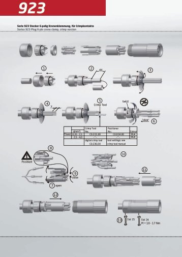 923 series Assembly Instructions - AP Technology