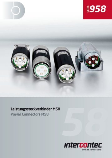 Leistungssteckverbinder M58 Power Connectors M58