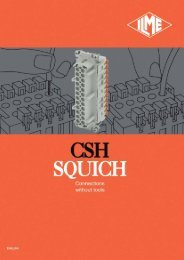 CSH series Connections without tools SQUICH