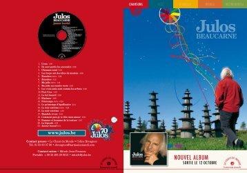 Julos BEAUCARNE - Le Chant Du Monde