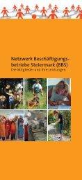 Netzwerk Beschäftigungs- betriebe Steiermark (BBS) - bbsnet.at
