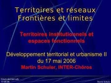 """La """"frontière"""" - Chôros"""