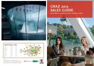 Sales Guide 2013 download - Graz Tourismus