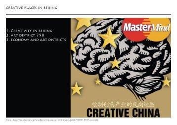 creative places in beijing 1. Creativity in beijing 2. art district 798 3 .