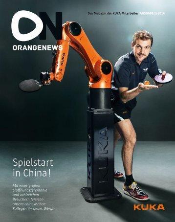 Spielstart in China!