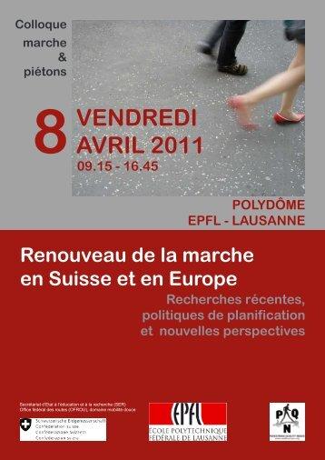 VENDREDI AVRIL 2011 - Chôros - EPFL