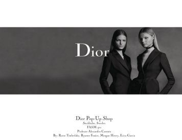 Dior Pop-Up Shop
