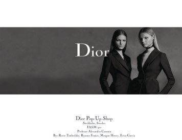 Dior Pop-Up Shop