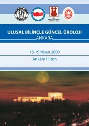 Toplantı Programı - Türk Üroloji Derneği