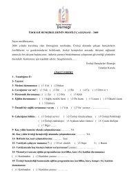 Üroloji Hemşirelerinin Profili Çalışması - Türk Üroloji Derneği