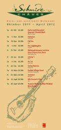 Programm 2011/12 - Schmidechäuer