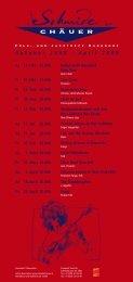 Programm 2008/09 - Schmidechäuer