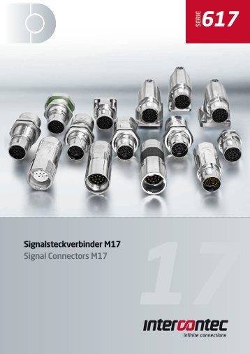 Signalsteckverbinder M17 Signal Connectors M17 - Lucob spol. s ro