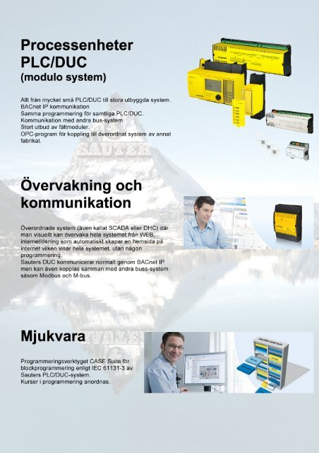 Komponentöversikt - Sauter Automation AB