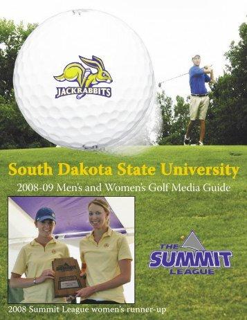 2008-09 Men's & Women's Golf - South Dakota State University ...