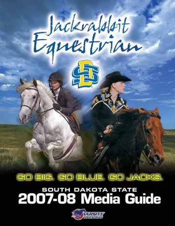2007-08 jackrabbit equestrian schedule - South Dakota State ...