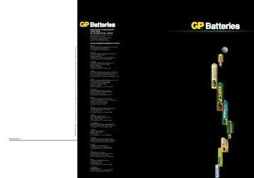 Industrial Series - GP Batteries (Hong Kong)