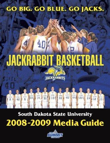 2008-2009 Media Guide - South Dakota State University Athletics