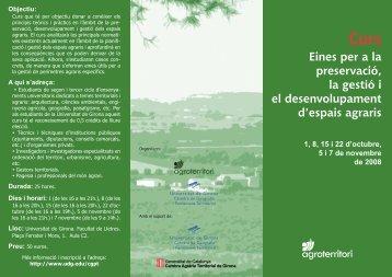 Programa - Universitat de Girona