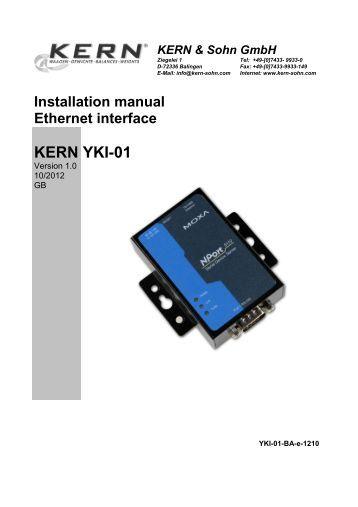 Interface manual