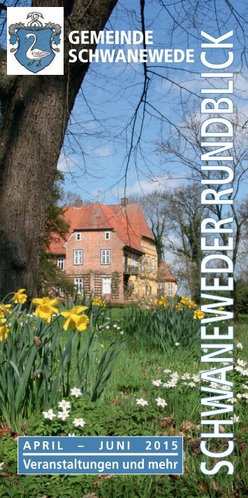 Schwaneweder Rundblick April-Juni 2015