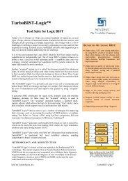 TurboBIST-Logic™ - Syntest