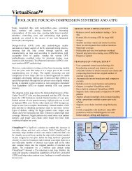 view VirtualScan data sheet - Syntest