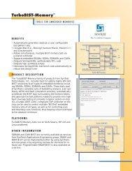 TurboBIST-Memory - Syntest