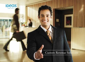 Custom Revenue Solutions - Ideas