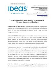 Download PDF of this Press Release - Ideas