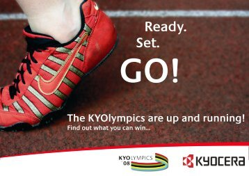 KYOlympics Guide - KYOCERA Document Solutions