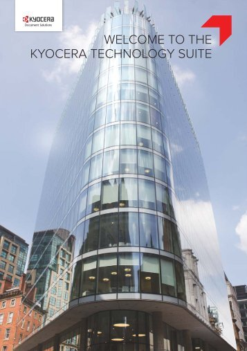 Welcome to the KYOCERA Technology Suite, Manchester