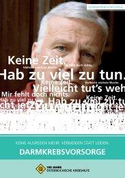 Mir fehlt doch - Krebshilfe Oberösterreich