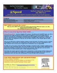 Q3, 2006 Newsletter - Syntest