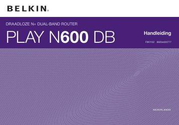 PLAY N600 DB - Belkin
