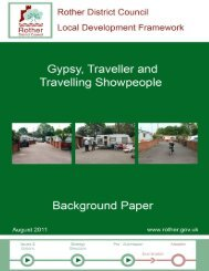 Gypsy, Traveller and Travelling Showpeople background paper