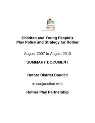 Children and Young People's Play Policy and Strategy 2007 – 10