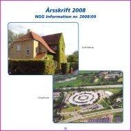 Årsskrift 2008 - Nordsjællands Grundskole og Gymnasium
