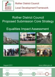 Equalities Impact Assessment - Rother District Council